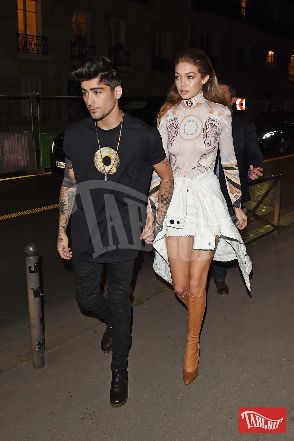 Zayn e Gigi Hadid