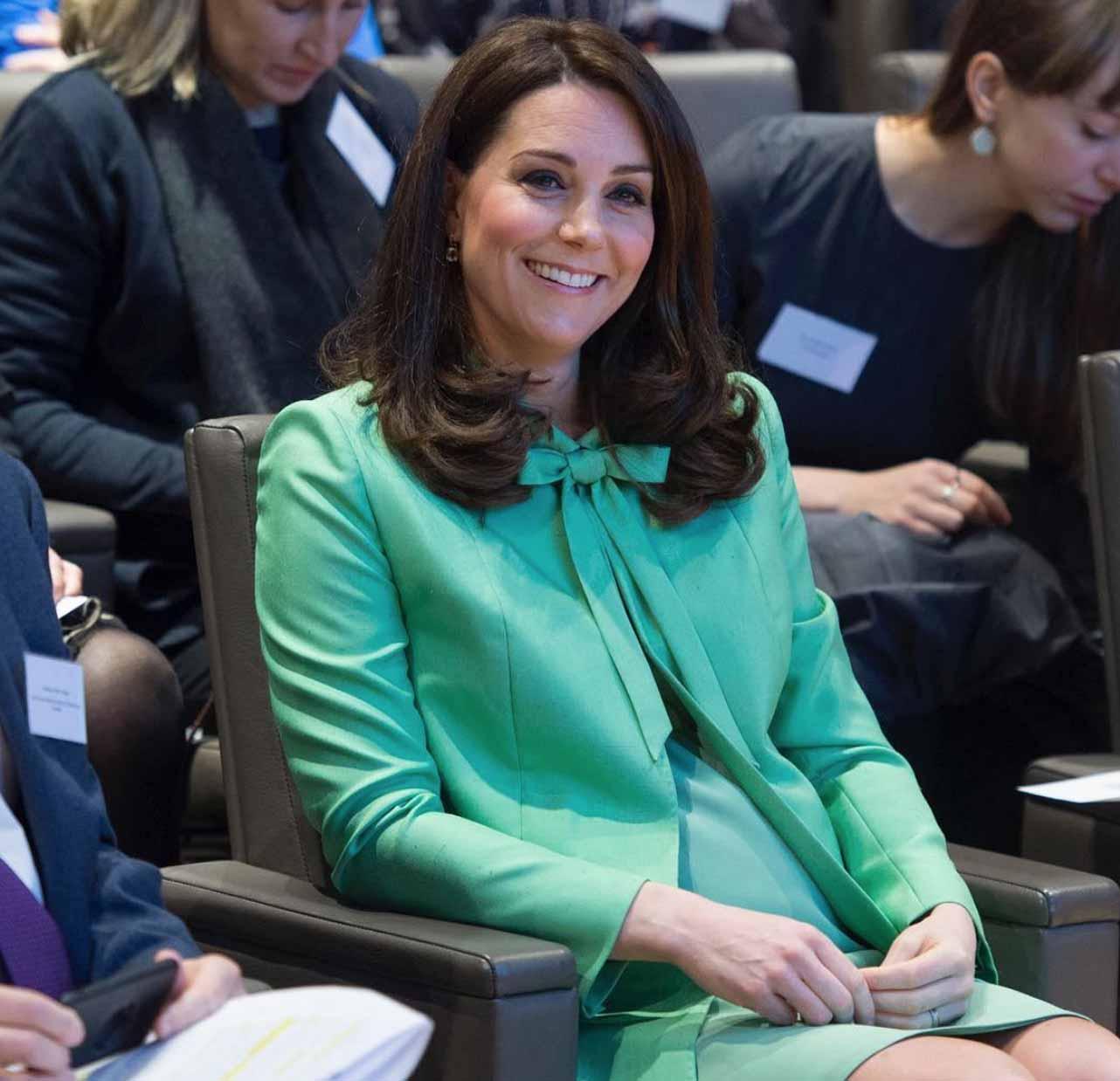 Kate Middleton parto