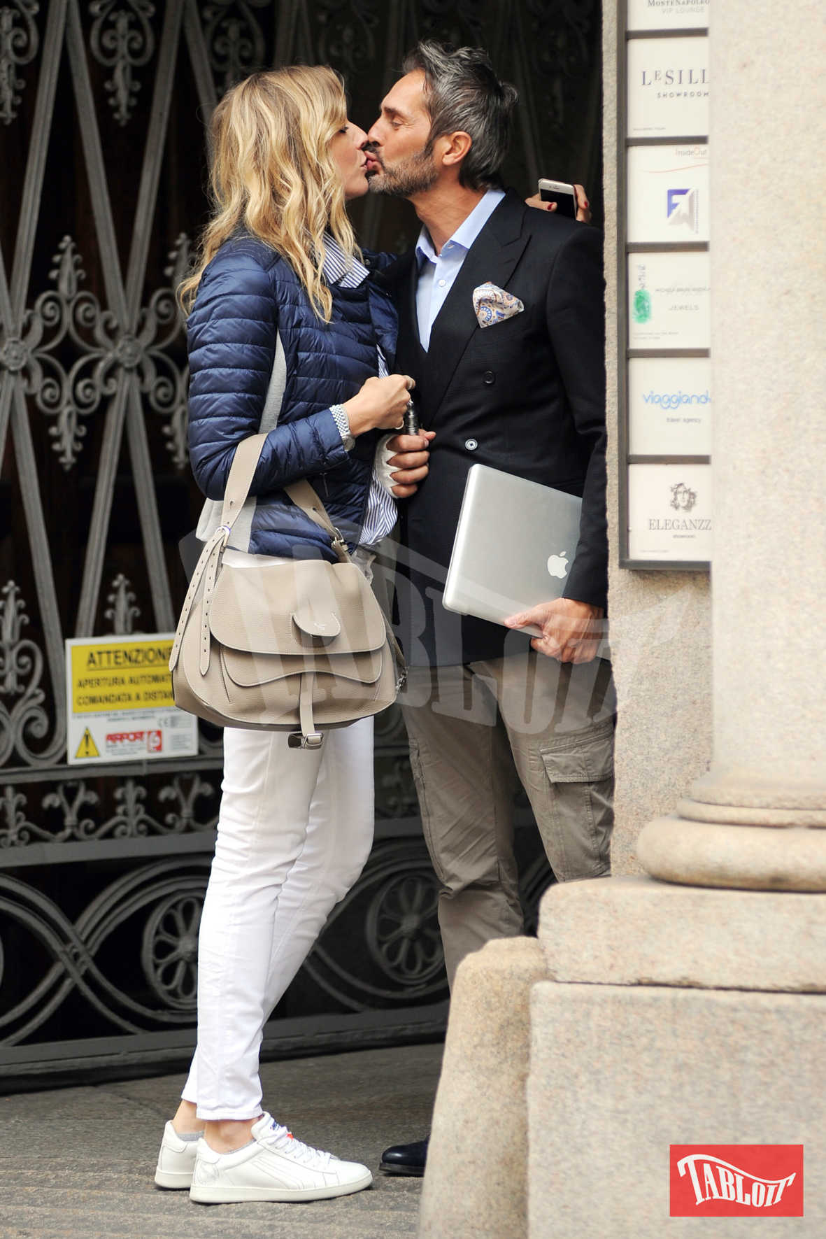Natasha Stefanenko e Luca Sabbioni