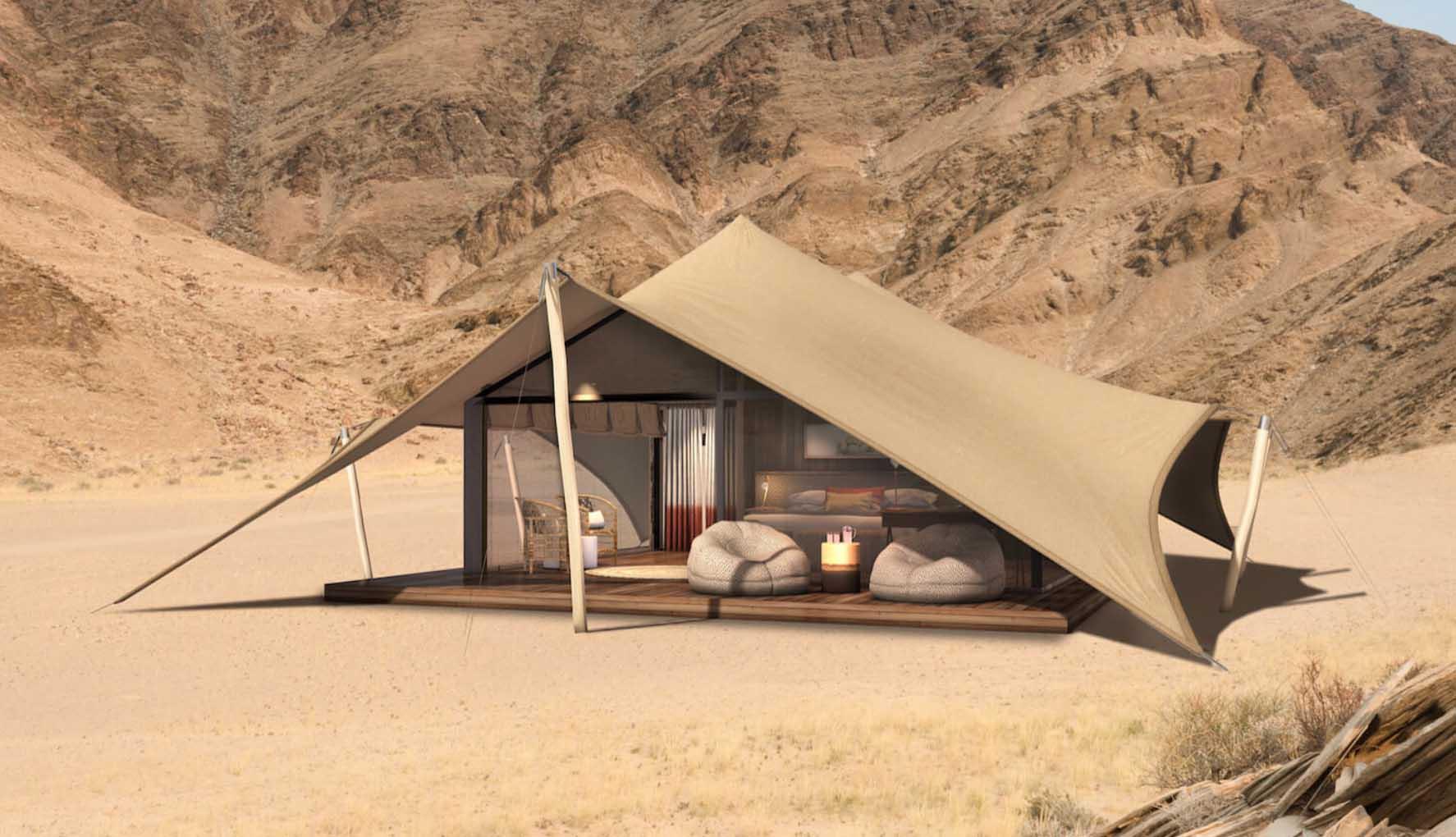 Natural Selection's Hoanib Valley Camp