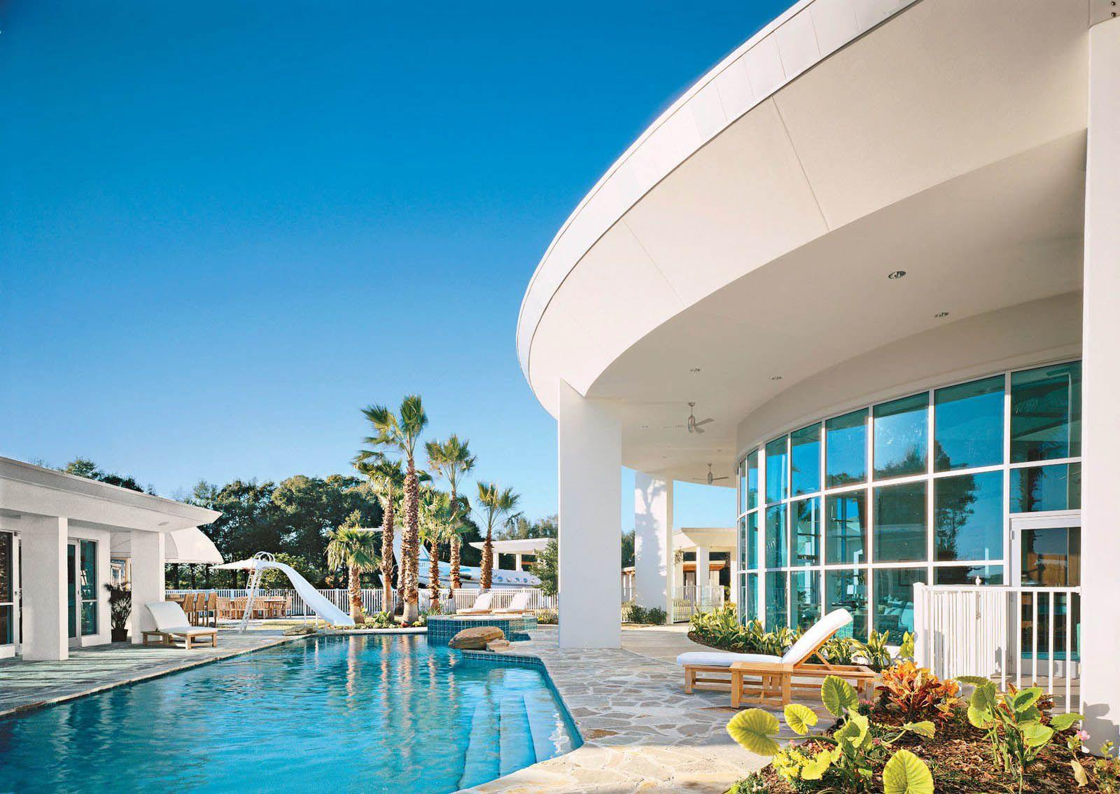 casa john travolta florida piscina