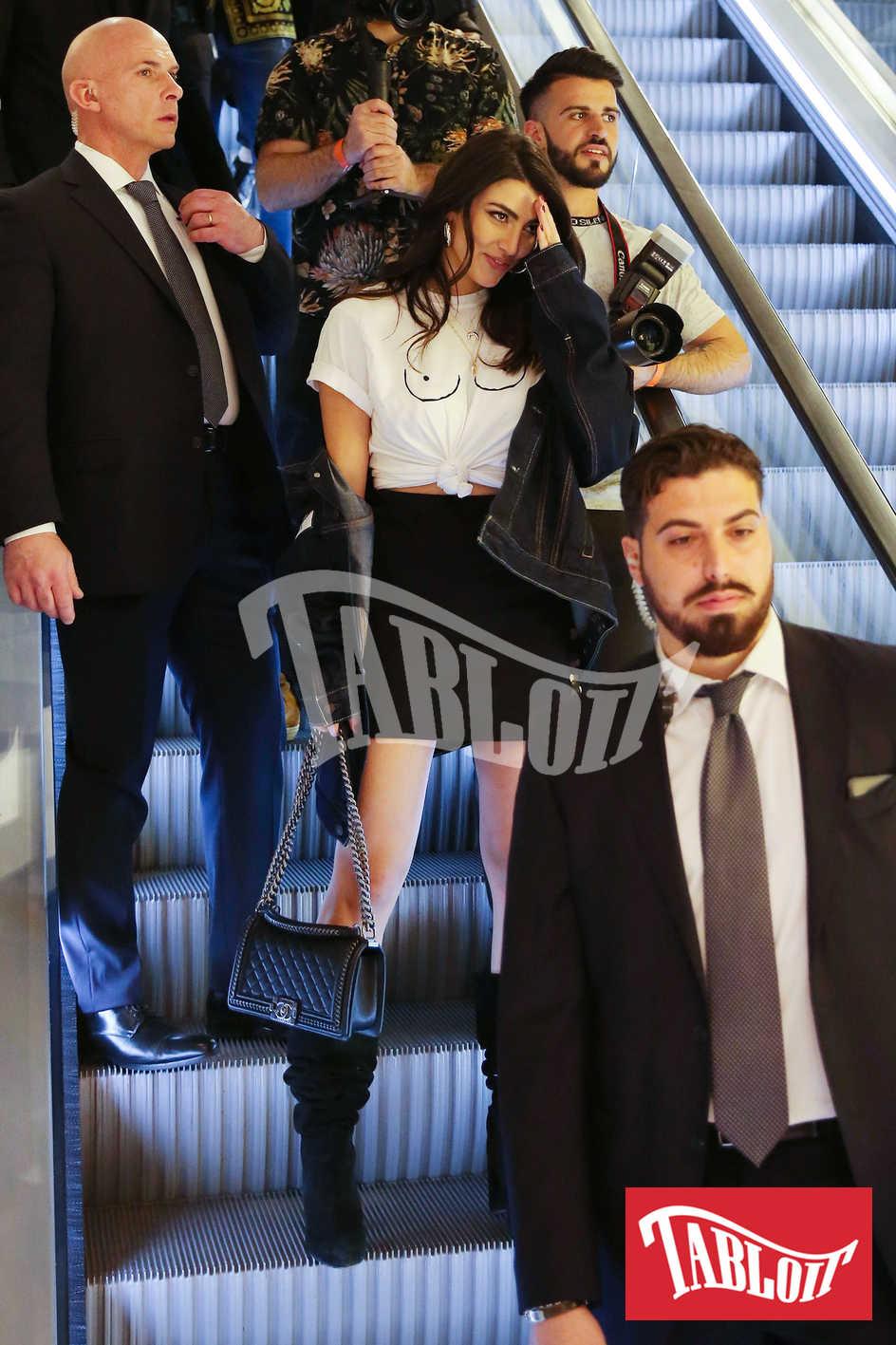 Giulia Salemi arriva alla Rinascente