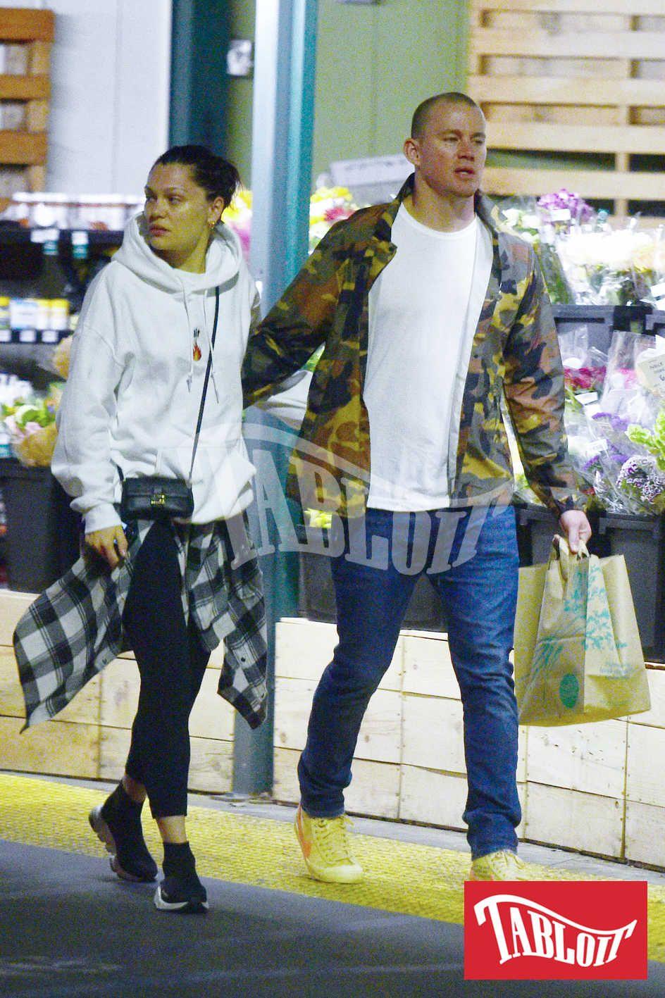 Channing Tatum con la fidanzata Jessie J