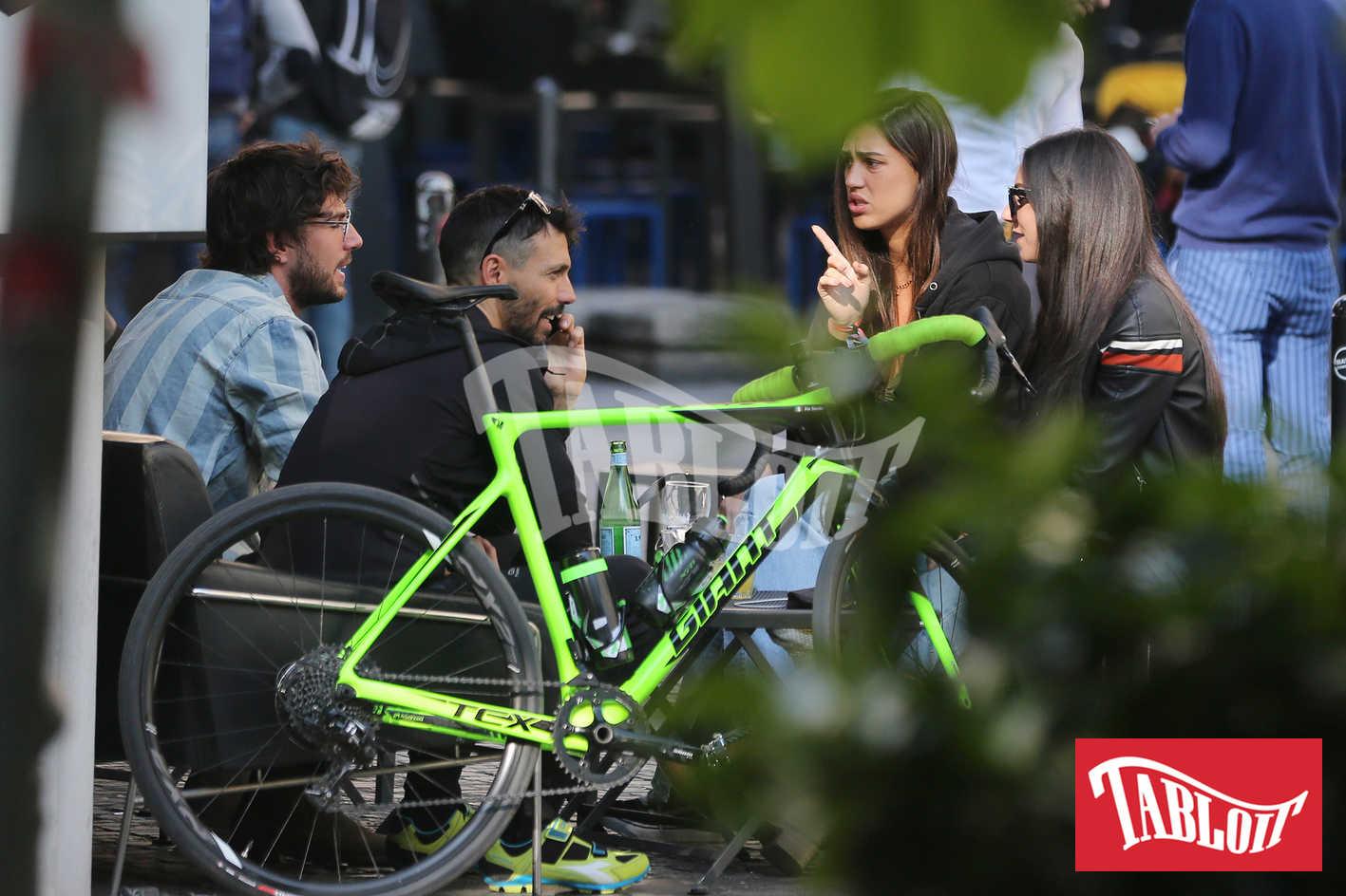 Cecilia e Ignazio a Milano dopo aver partecipato al Coachella