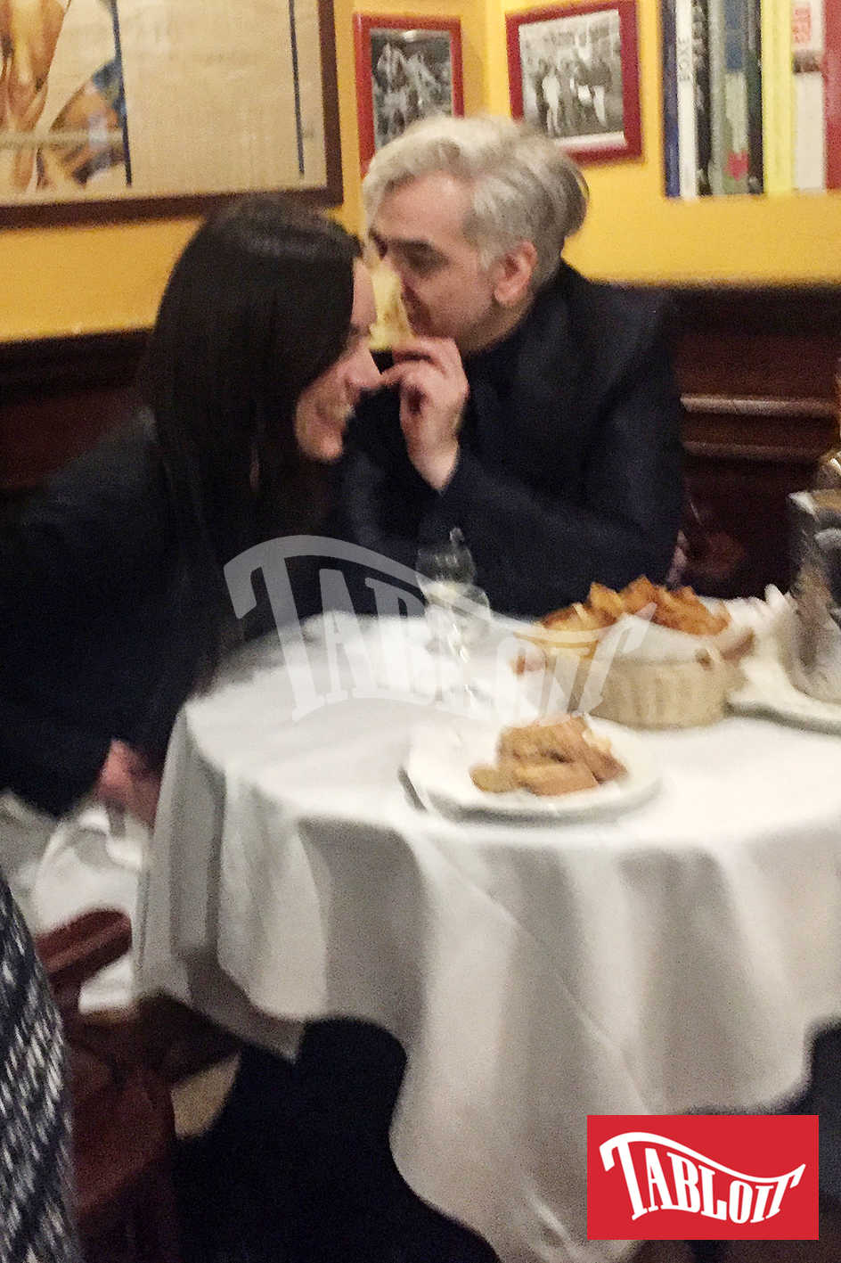 morgan cena romantica con la nuova fidanzata