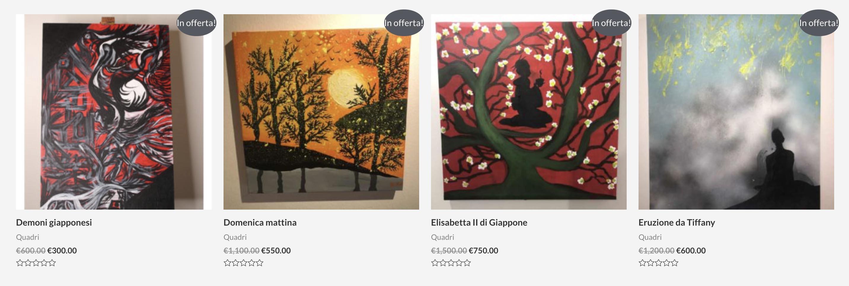 Nina Moric, ecco quanto costano i suoi quadri | Tabloit