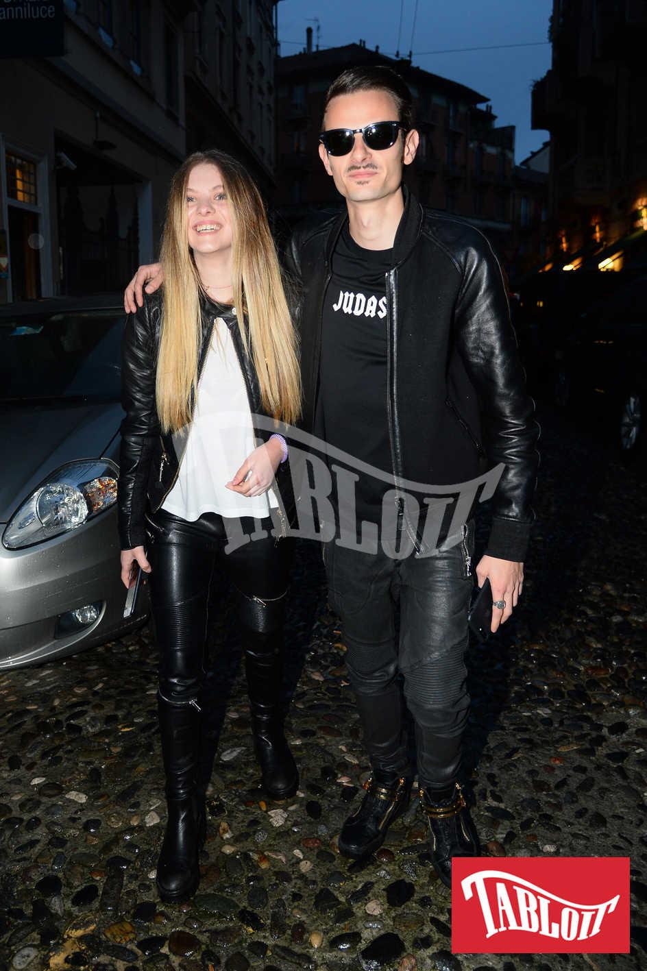 Fabio Rovazzi e Karina Bezhenar