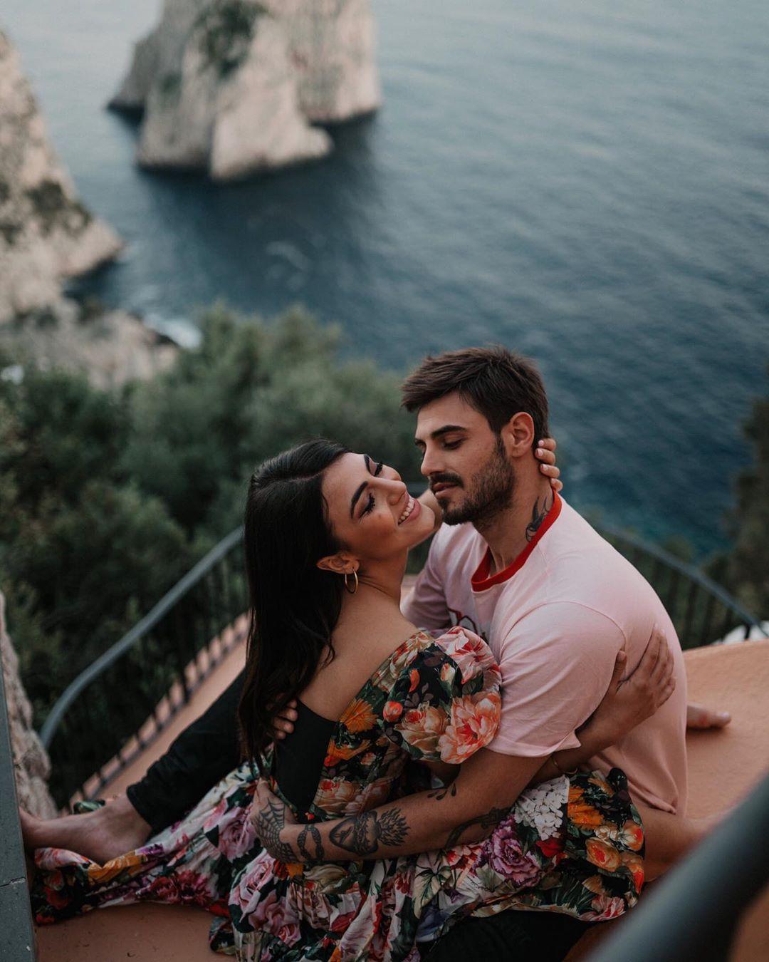 Giulia Salemi e Francesco Monte a Capri