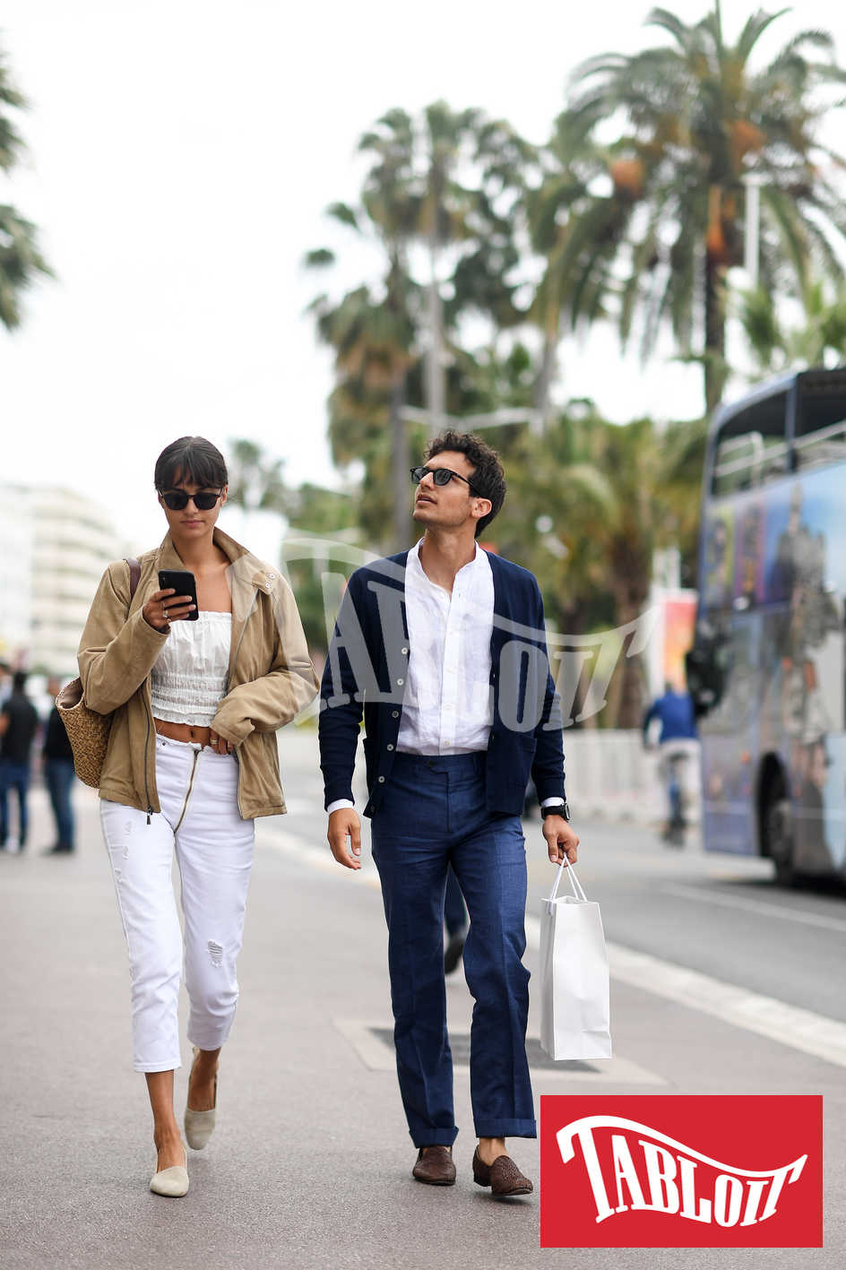 Riccardo Pozzoli e Gabrielle Caunesil a cannes