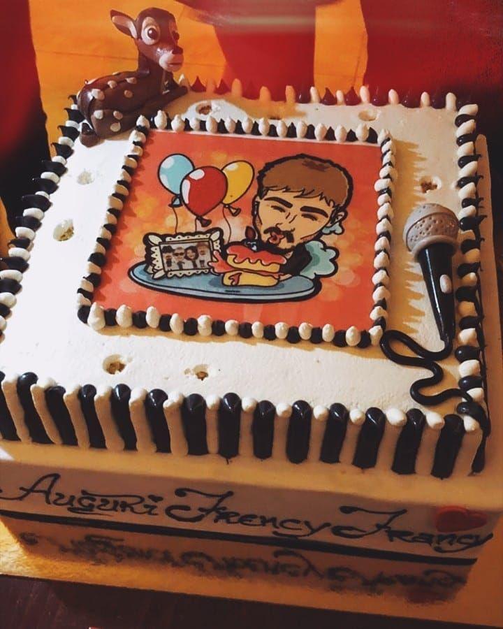 La torta di Francesco
