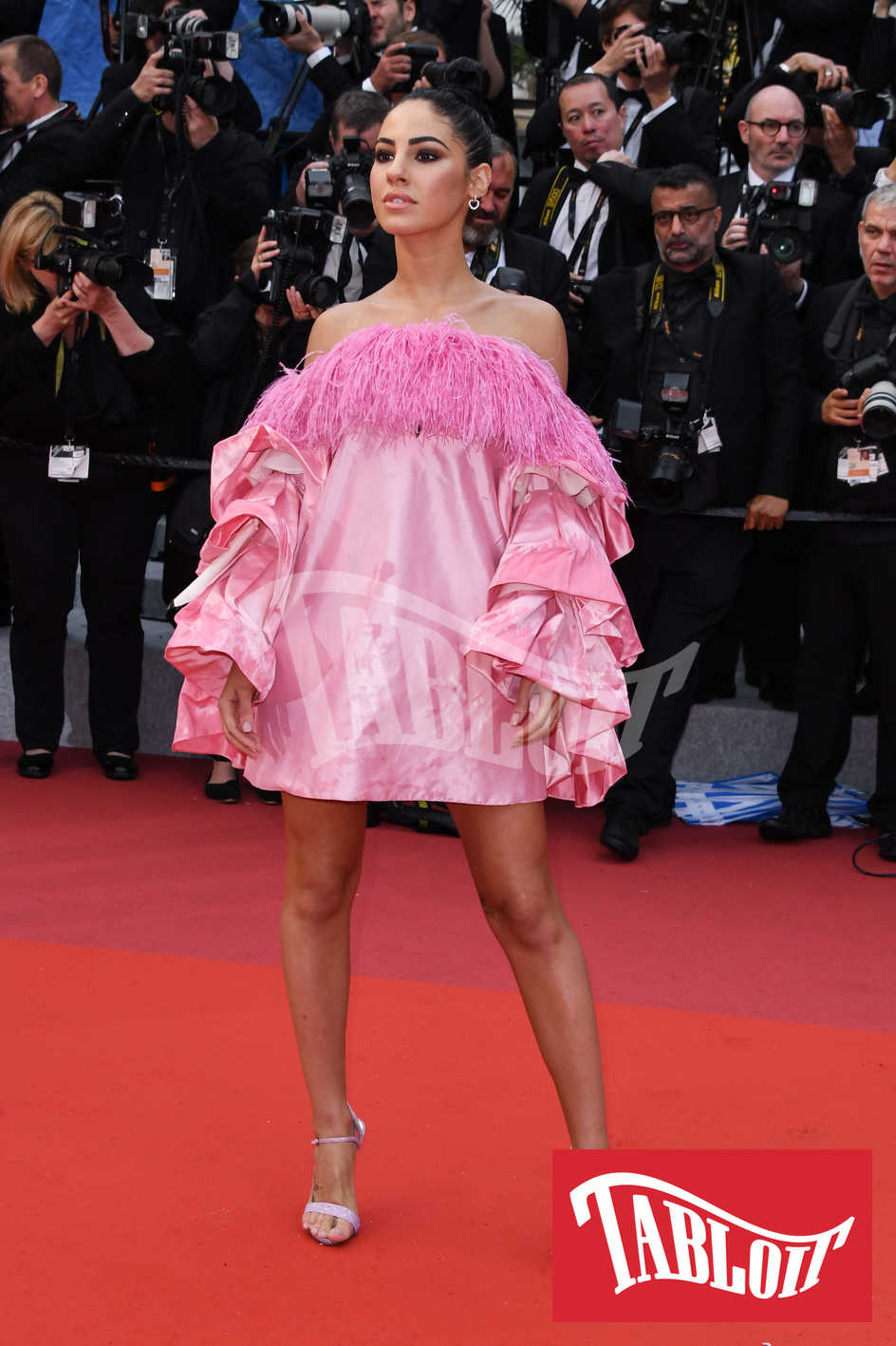 Giulia De Lellis sul red carpet di Cannes