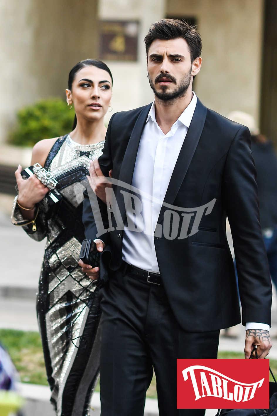 Francesco Monte e Giulia Salemi durante la recente trasferta a Cannes
