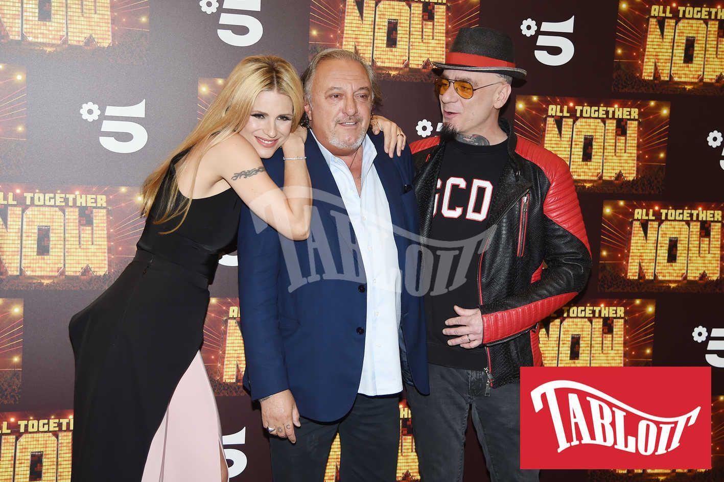 Michelle Hunziker, Roberto Cenci e J-Ax
