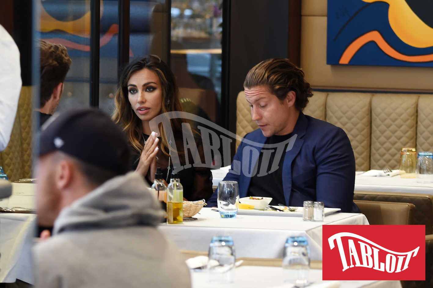 Madalina Ghenea and vito schnabel in cannes