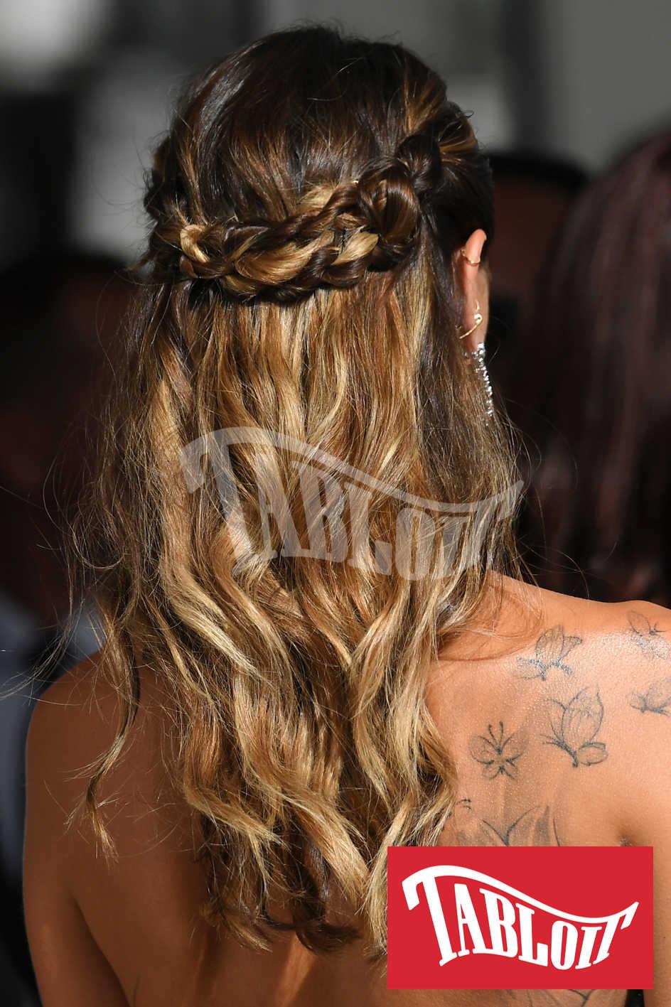 L'acconciatura scelta da Melissa per il red carpet di Cannes