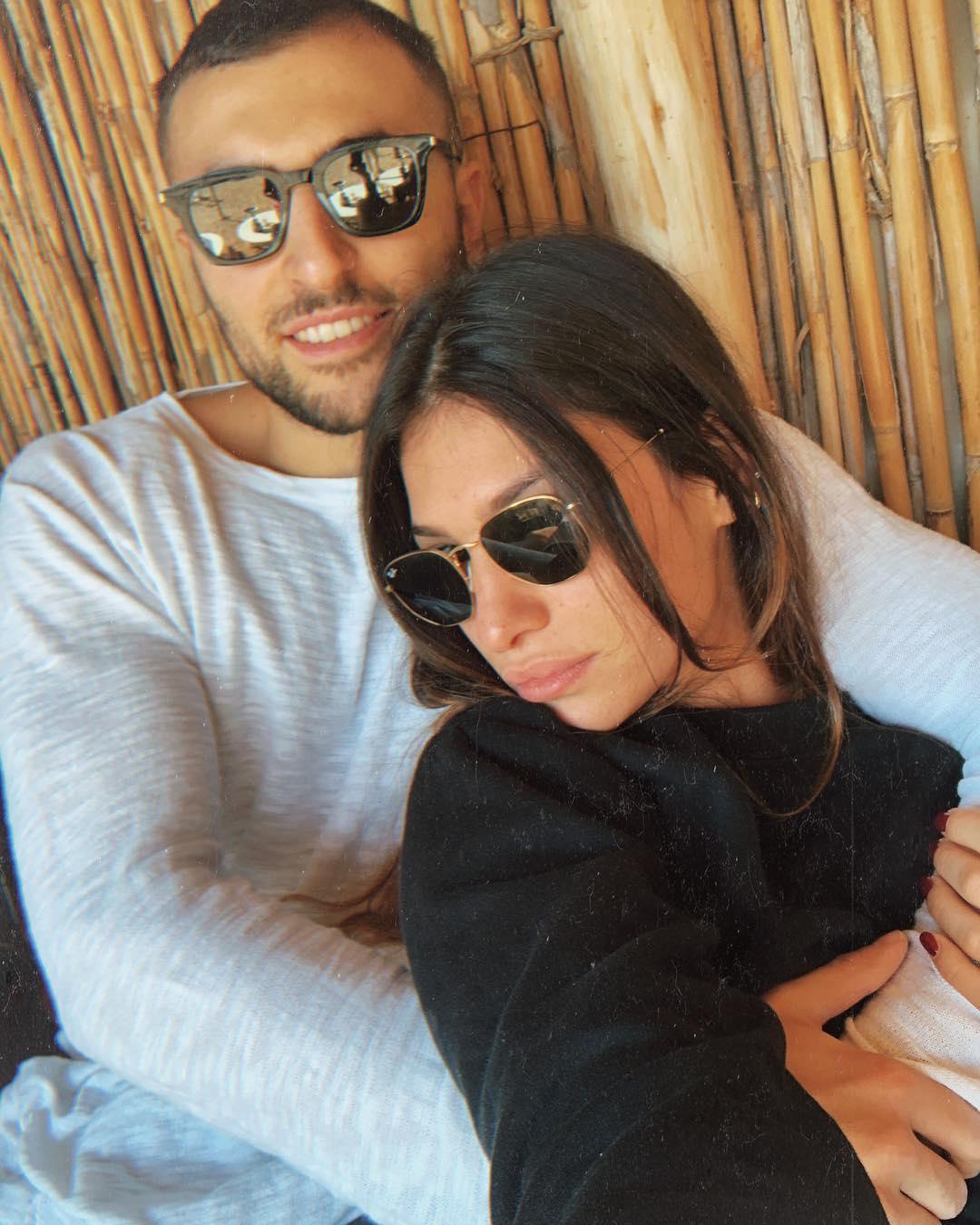 Ludovica Valli e l'ex fidanzato Federico Accorsi