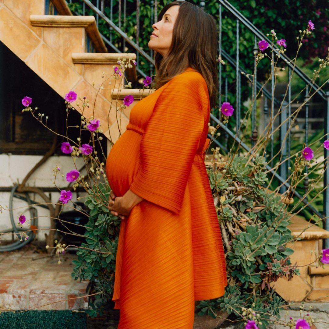 Alanis Morissette incinta