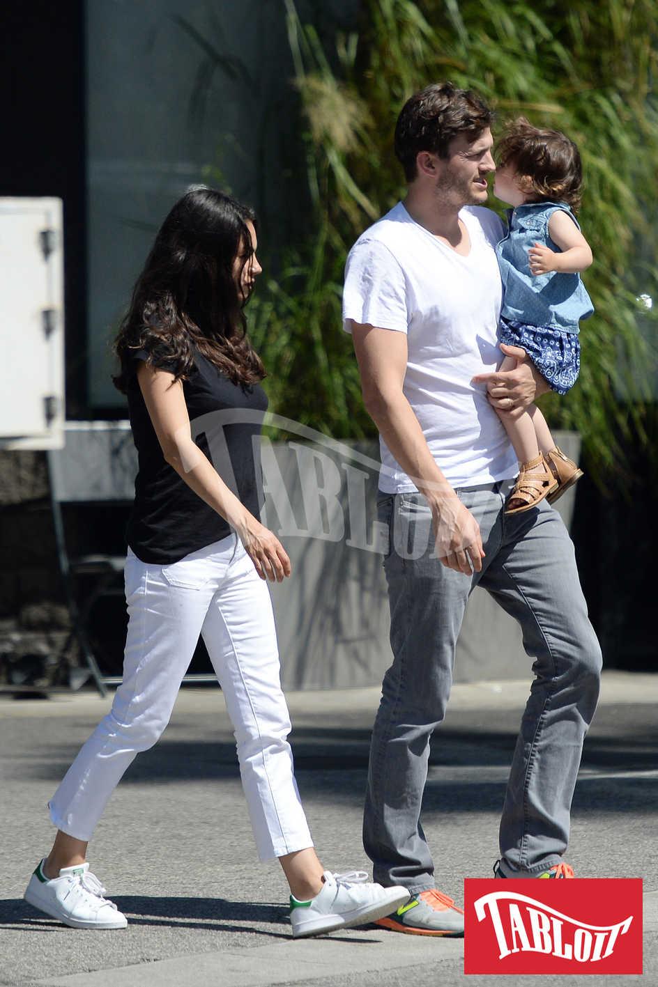 Ashton Kutcher e Mila Kunis