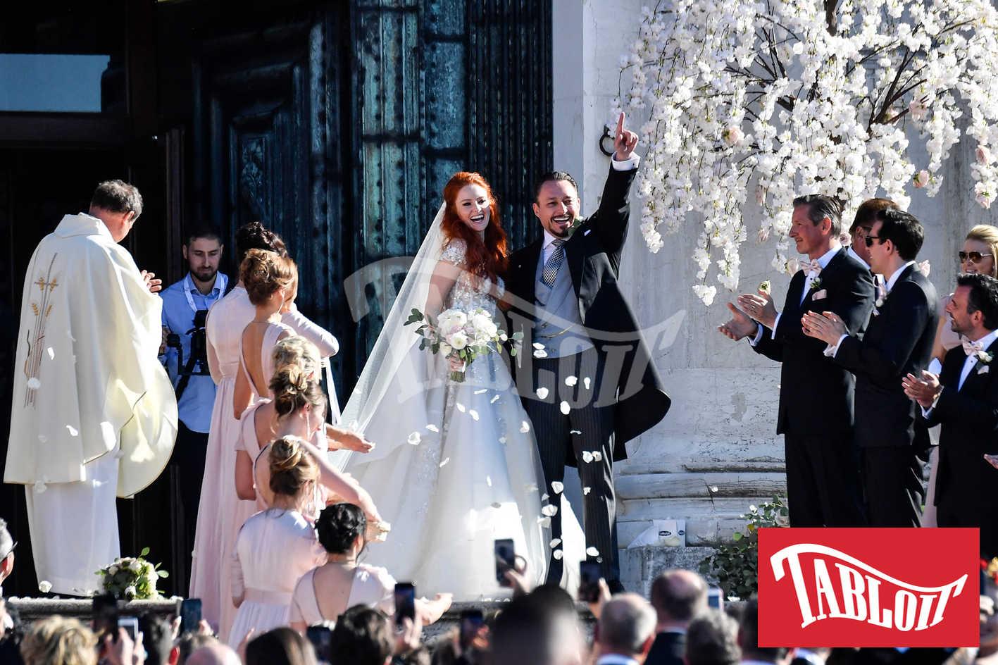 Barbara Meier e Klemens Hallmann matrimonio a venezia