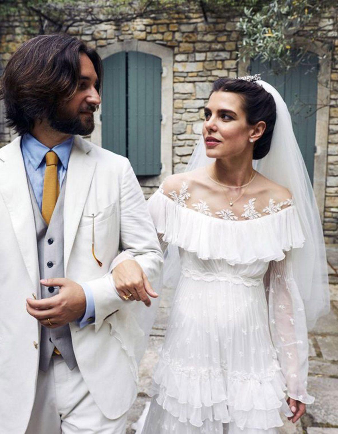 Charlotte Casiraghi e Dimitri Rassam, seconde nozze per la coppia