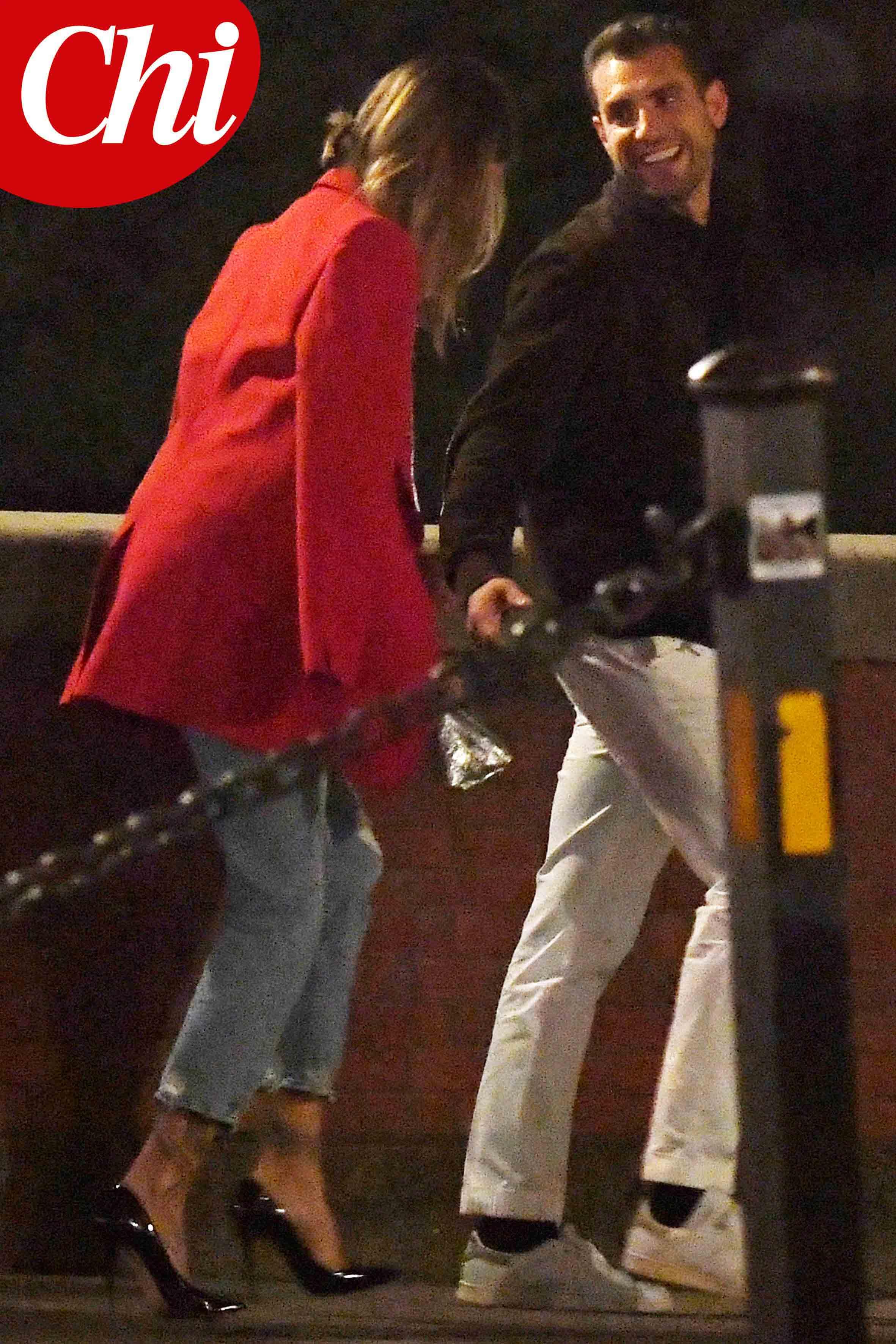 Melissa Satta e Tommy Chiabra a Firenze