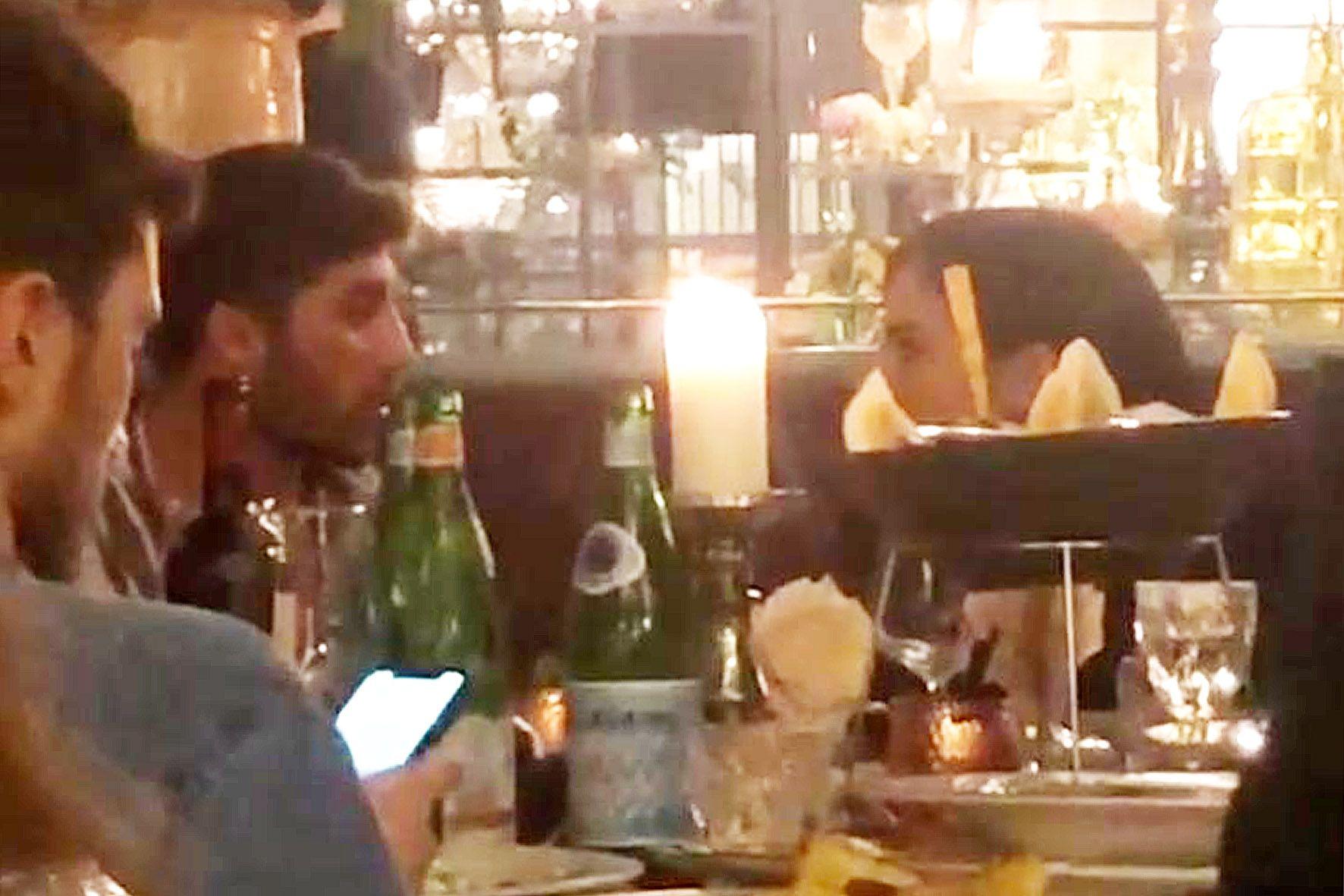 Andrea Iannone e Giulia De Lellis a cena a Milano
