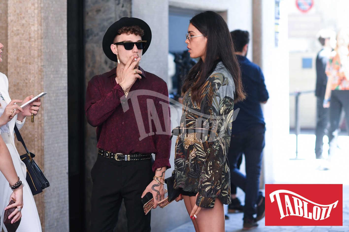 Irama, prima foto social con la nuova fidanzata Victoria Stella