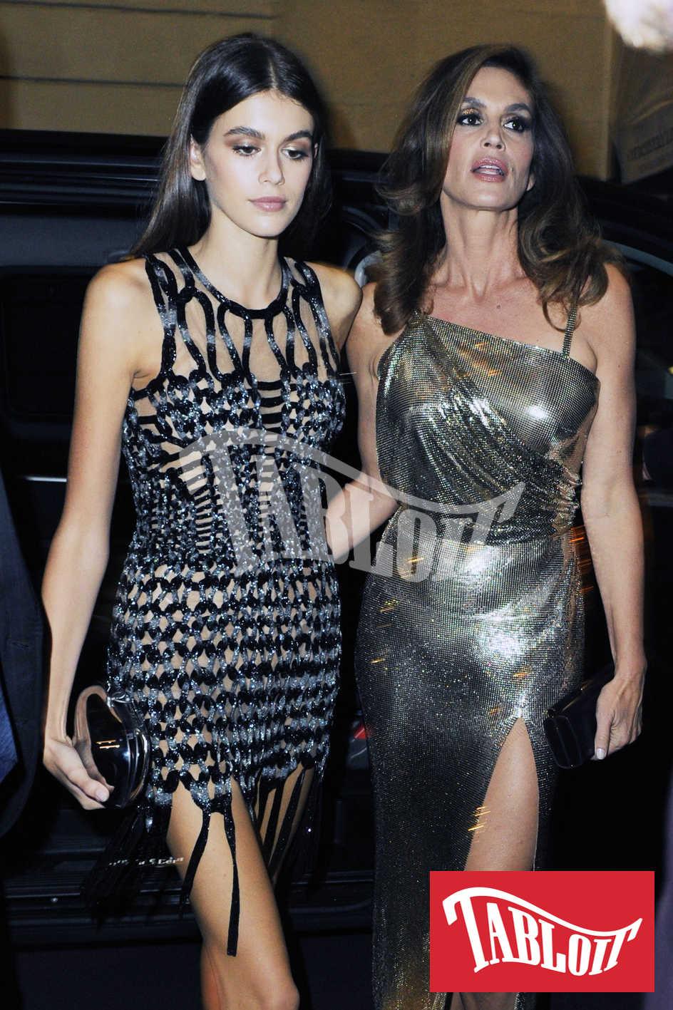 Cindy Crawford con la figlia Kaia Gerber