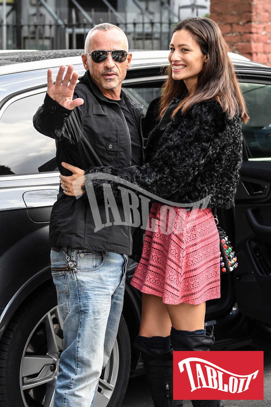 Eros Ramazzotti e Marica Pellegrinelli