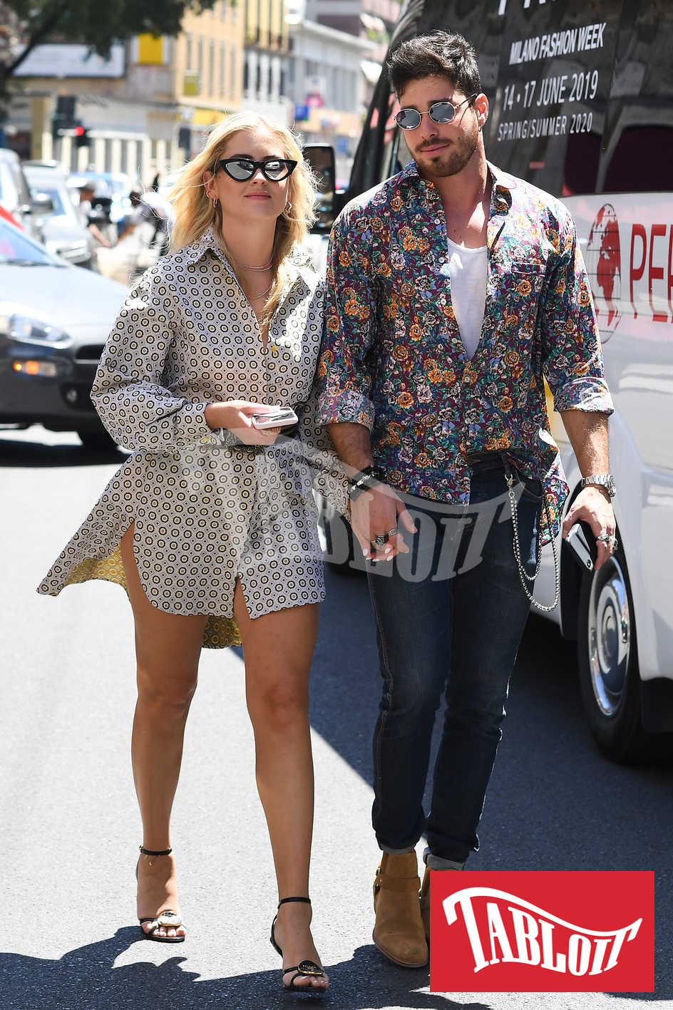 Valentina Ferragni con il fidanzato Luca Vezil