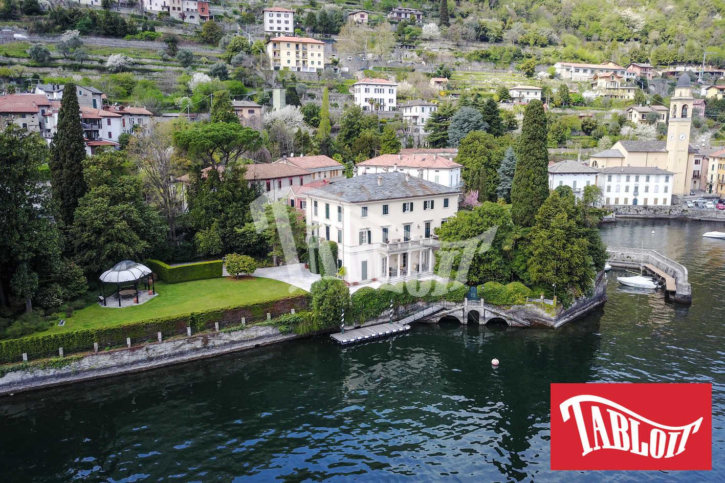 Villa Oleandra, veduta aerea della villa