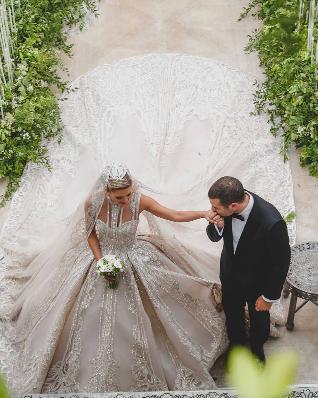 Elie Saab Jr e Christina Mourad matrimonio