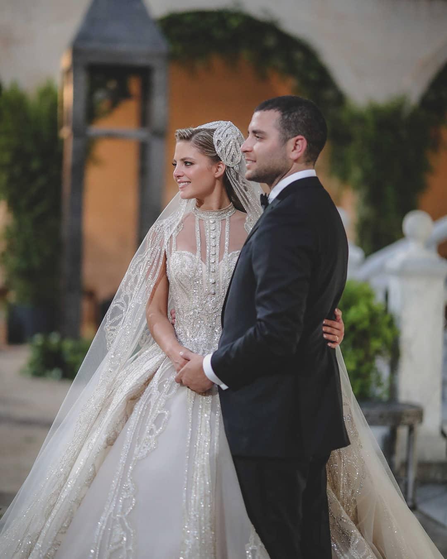 Elie Saab Jr e Christina Mourad nozze