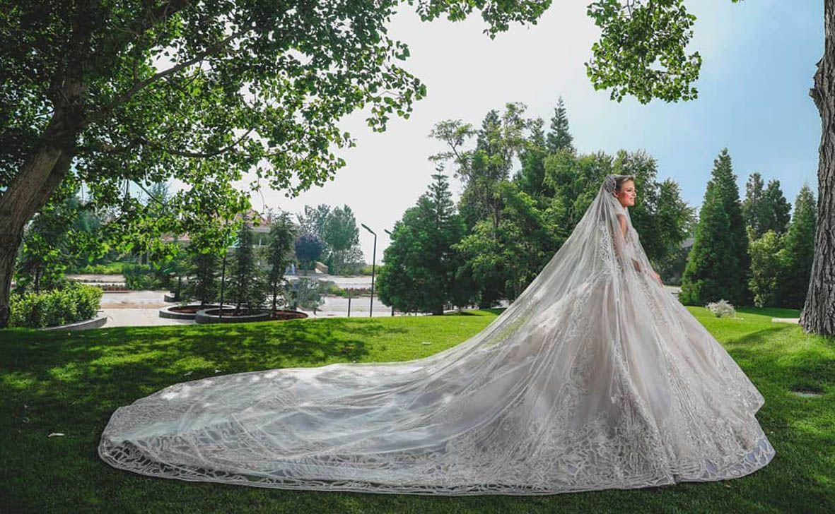 vestito della sposa Christina Mourad