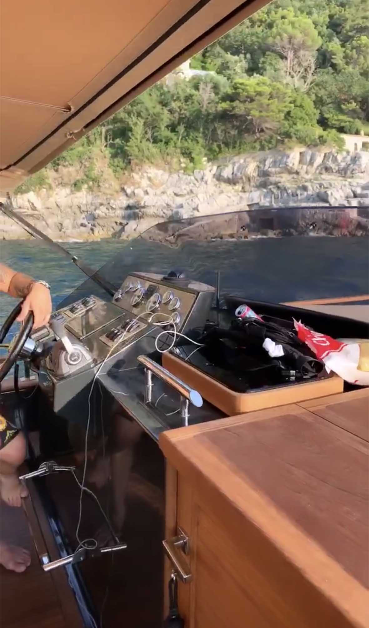 yacht stefano de martino