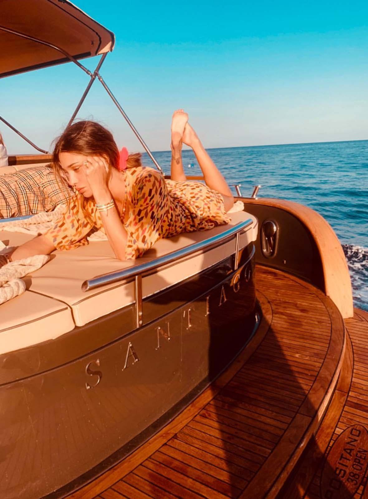 yacht stefano de martino belen rodriguez