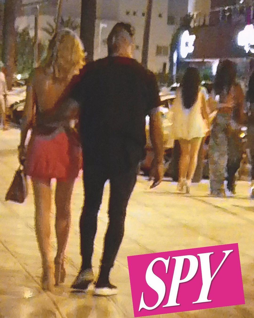 Diletta Leotta e Daniele Scardina sorpresi dal magazine SPY a Ibiza