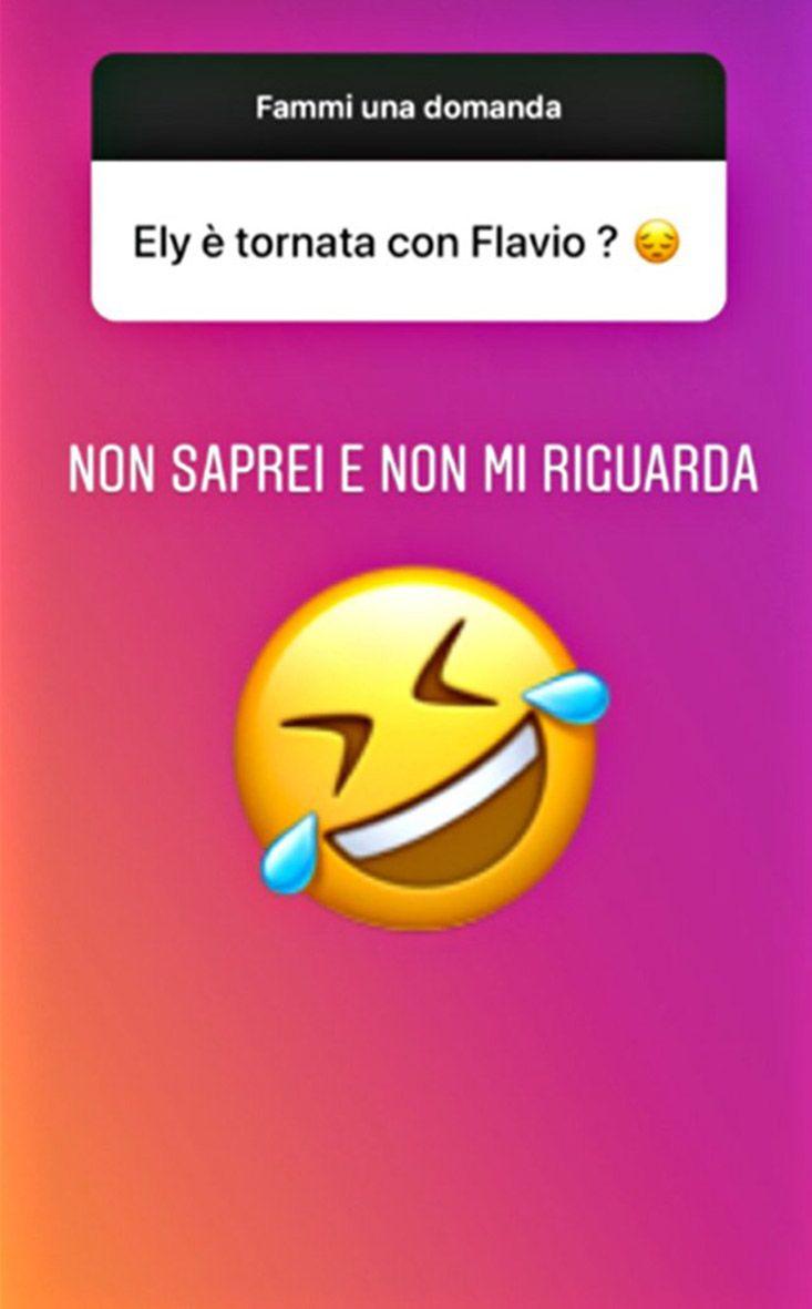 L'Instagram Story di Francesco Bettuzzi su Elisabetta Gregoraci