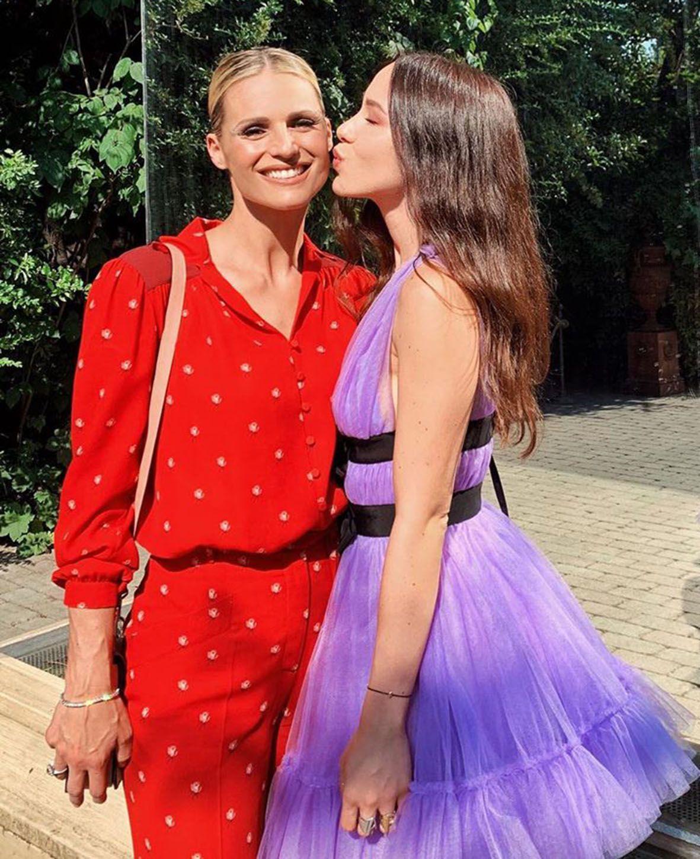 Michelle Hunziker e Aurora Ramazzotti, ospiti delle nozze di Paola Turani