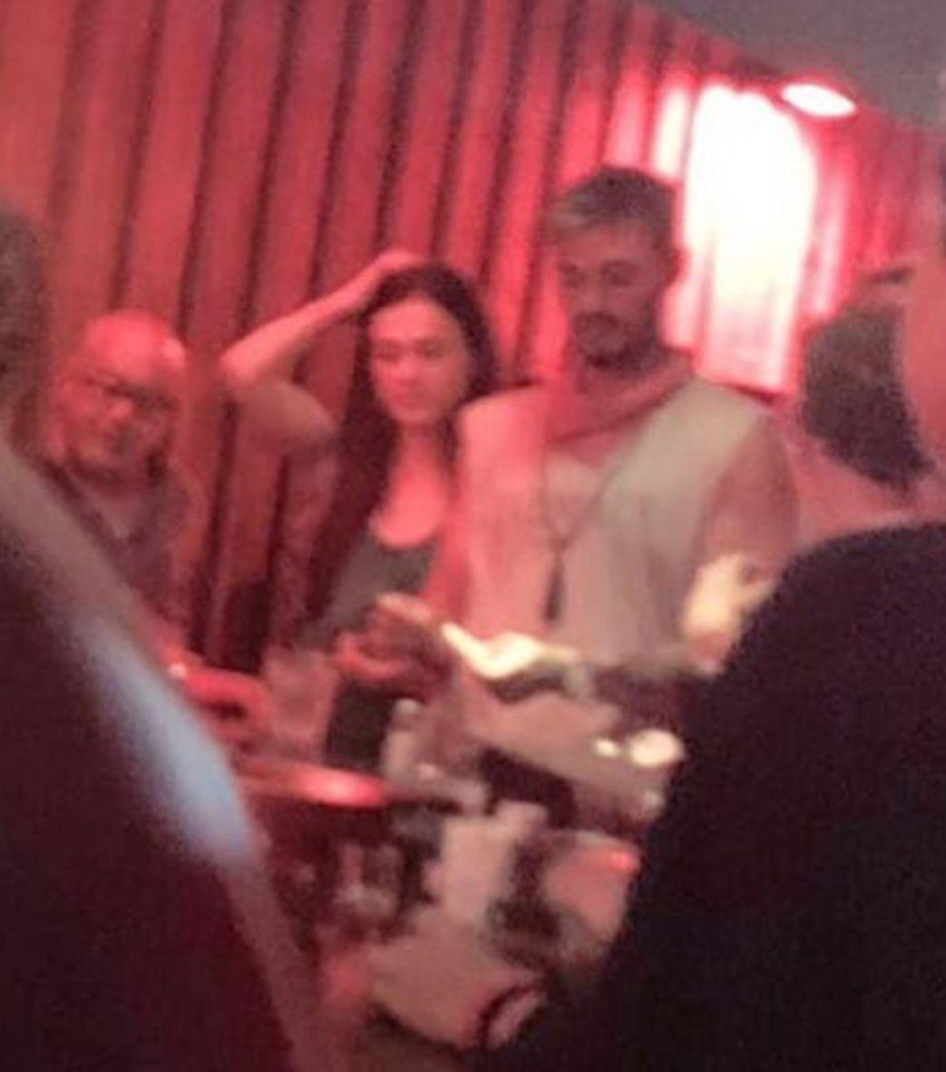 Francesco Monte e Isabella De Candia in discoteca ad Ibiza