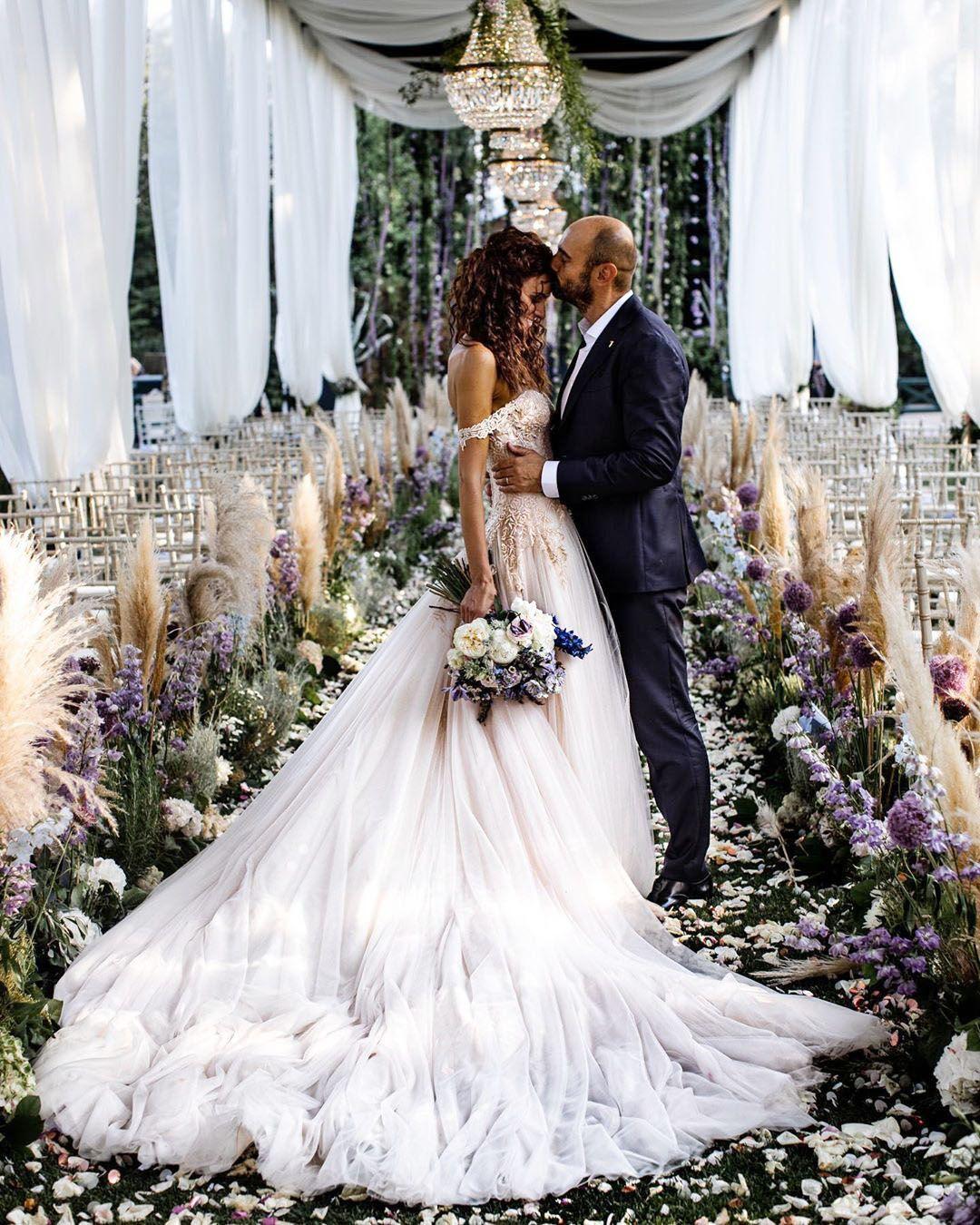 Paola Turani il giorno delle sue nozze
