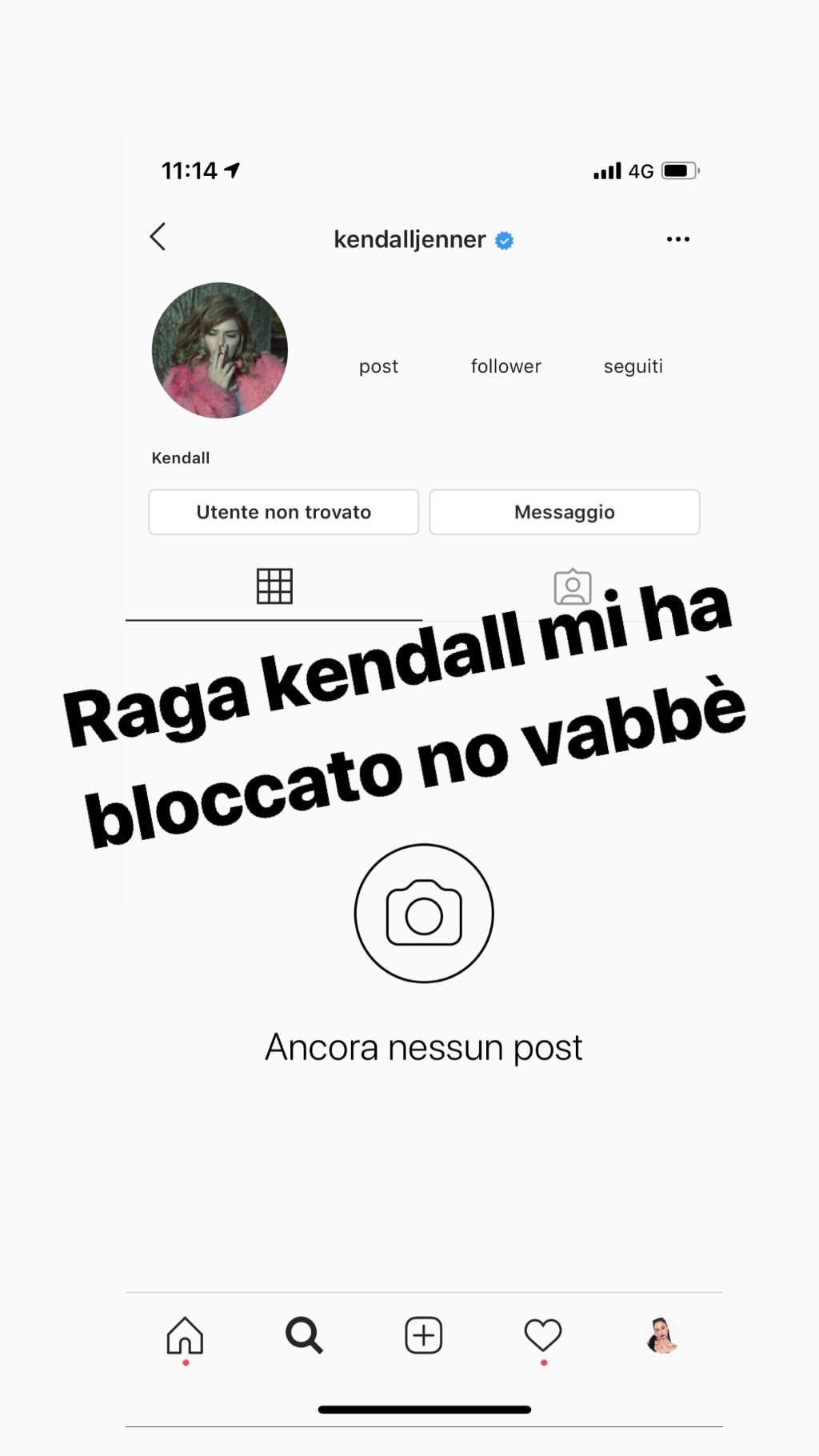 storia instagram valentina dallari kendall jenner