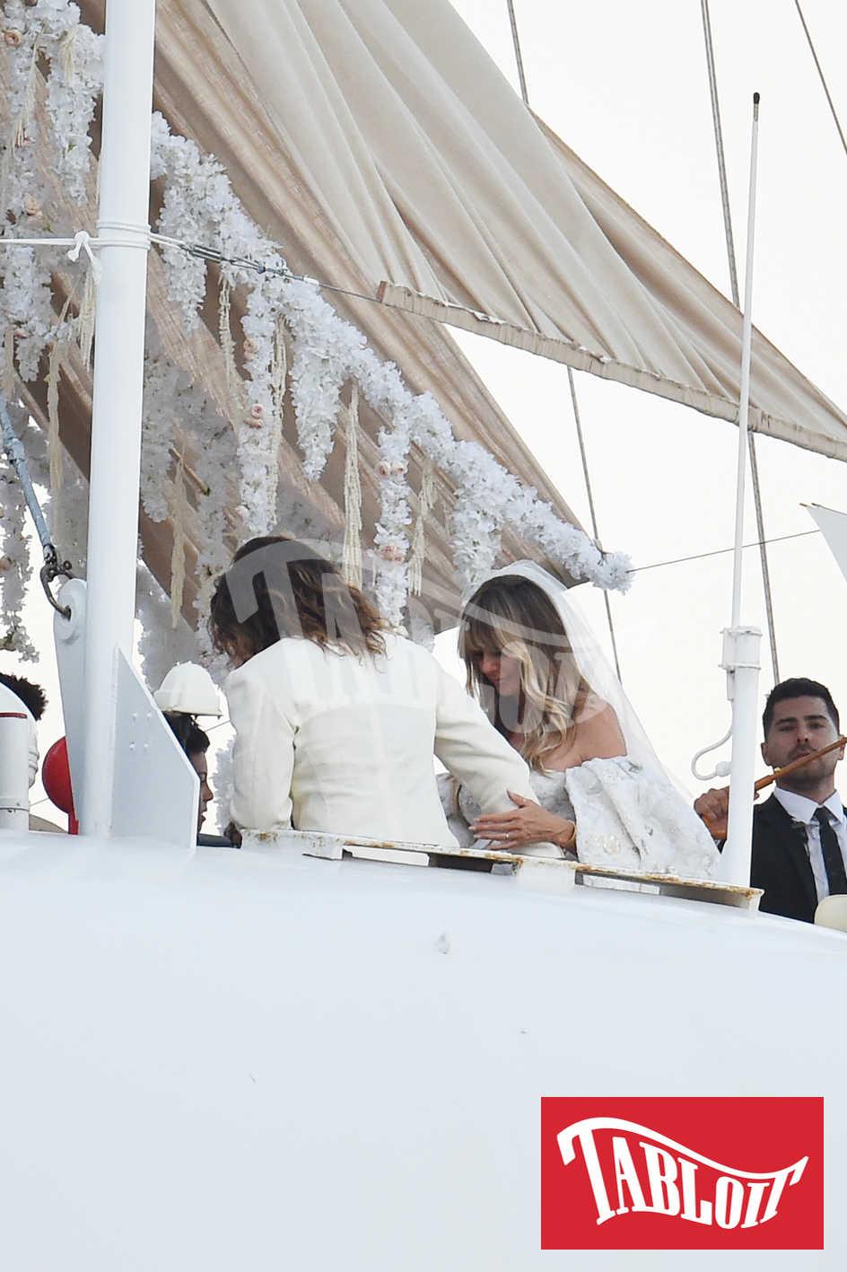 Heidi Klum e Tom Kaulitz matrimonio a capri