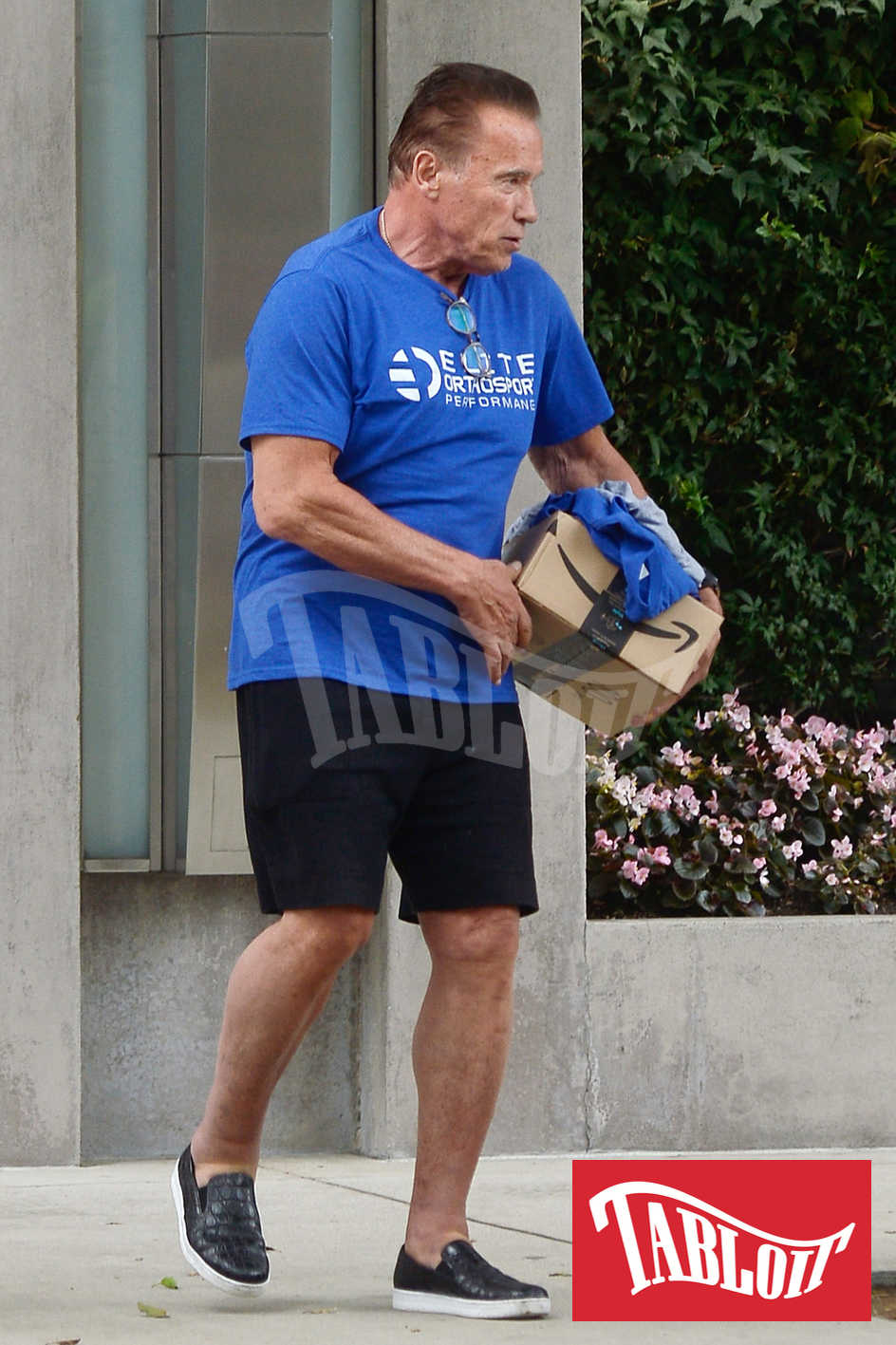 Arnold Schwarzenegger pacco amazon