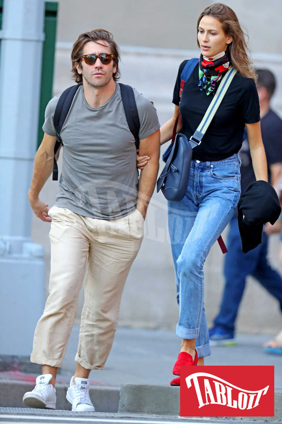Jake Gyllenhaal e Jeanne Cadieu fidanzati