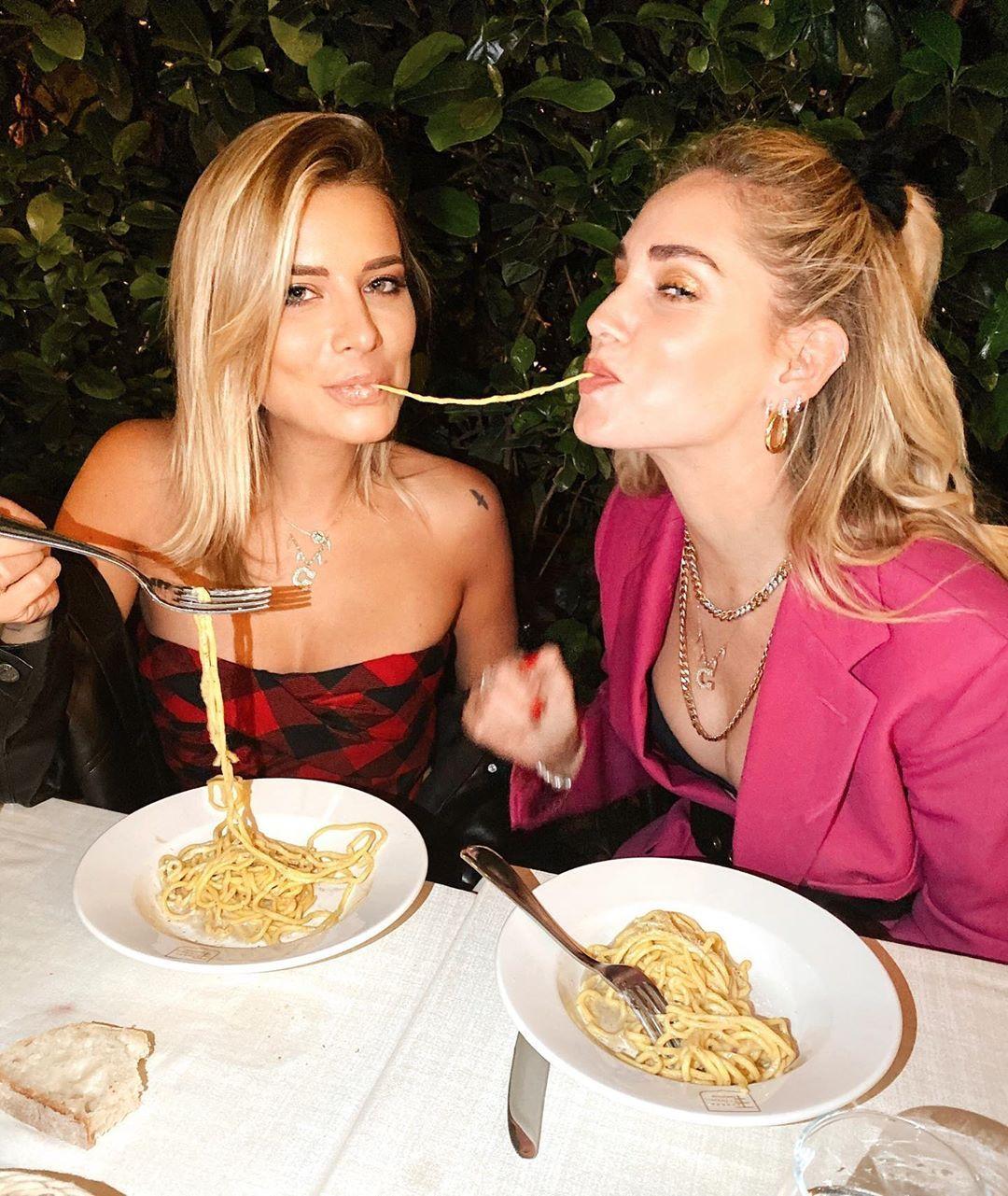 Veronica Ferraro e Chiara Ferragni