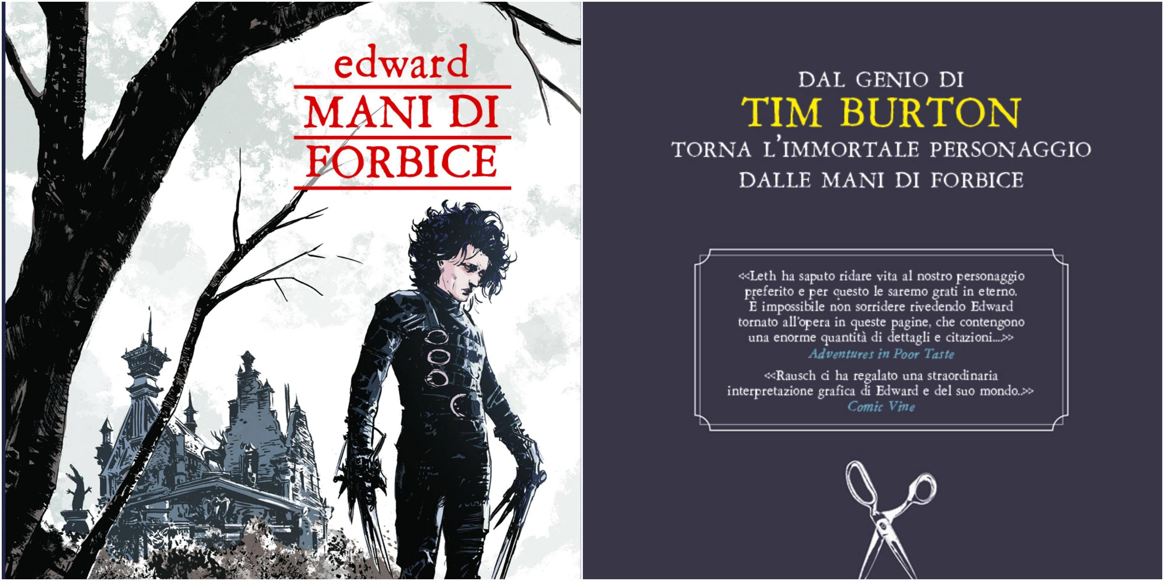 Edward Mani Di Forbice Recensione Del Sequel A Fumetti Di