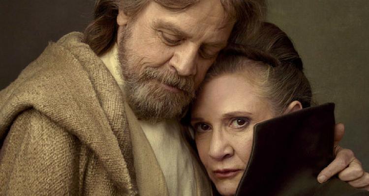 Star Wars 9: Mark Hamill commenta la presenza di Carrie Fisher