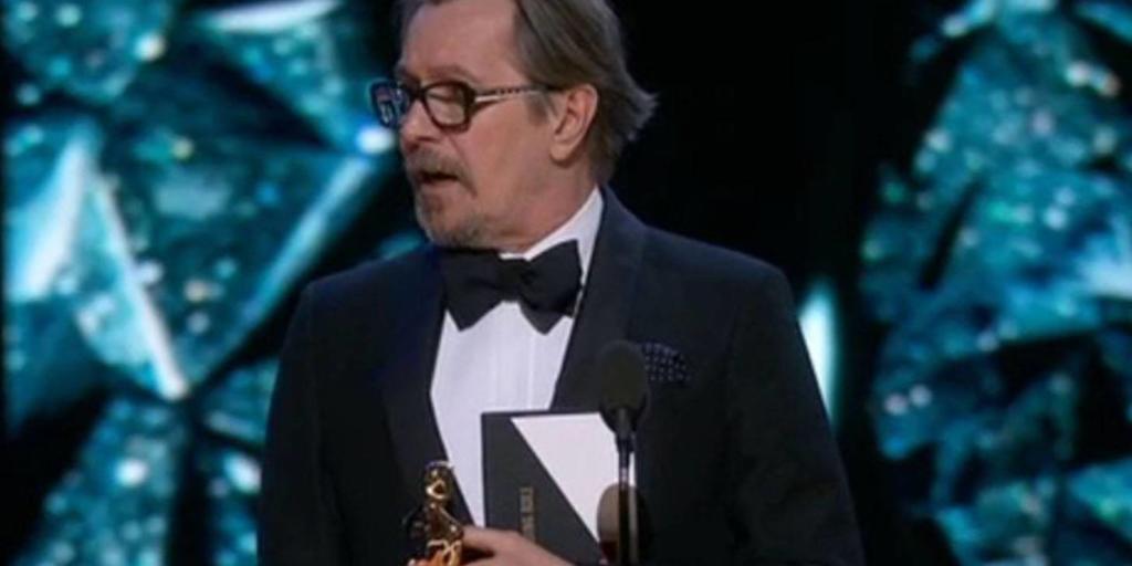 Oscar 2018 - Gary Oldman vince il premio al miglior attore protagonista