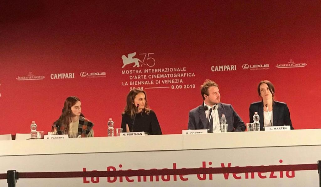 Venezia 75, Vox Lux: La conferenza stampa del musical con Natalie Portman